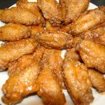 Chicken Wings in Honey Sriracha