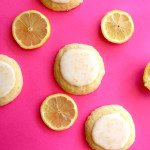 Soft Glazed Lemon Cookies