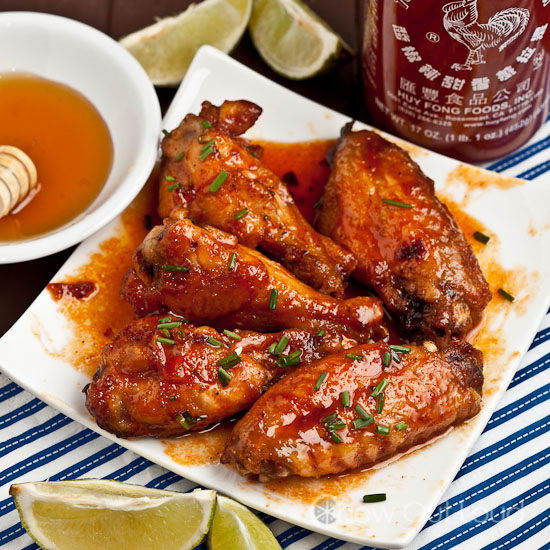 chicken-wings-in-honey-sriracha