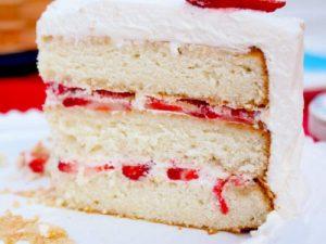 strawberries-cream-cake