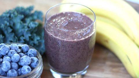 blueberry-kale-smoothie