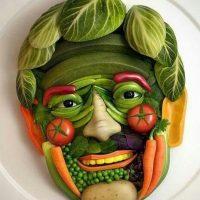 face-food