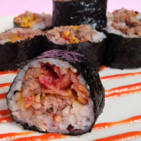 korean-kimbap-style-cheeseburger-sushi-recipe