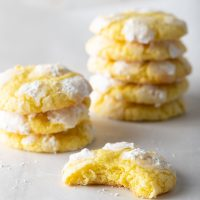 lemon-crinkle-cookies