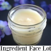 3 Ingredient Homemade Face Lotion