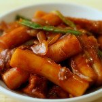 Korean Spicy Rice Cakes Tteokbokki 떡볶이