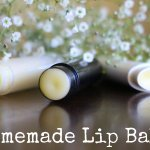 2 Ingredient Homemade Lip Balm / Chapstick