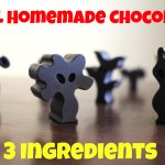Real Homemade Chocolate with 3 Ingredients + FAQ