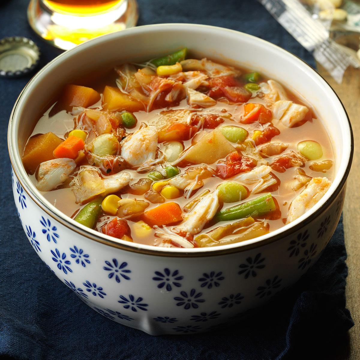 Squishy Recipe : Crab Soup {Easy 15 Minute Recipe} The Squishy Monster