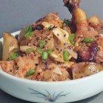 Kimchi Braised Chicken