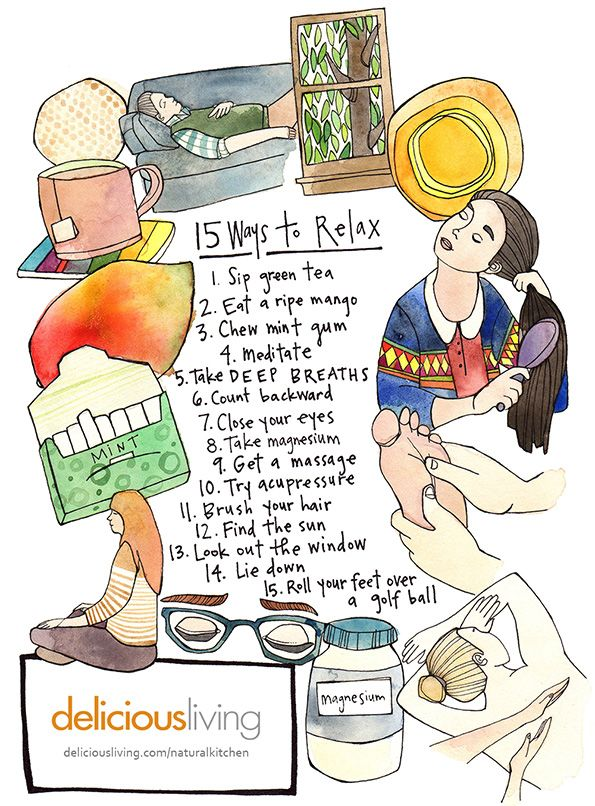 Natural Ways to Relax