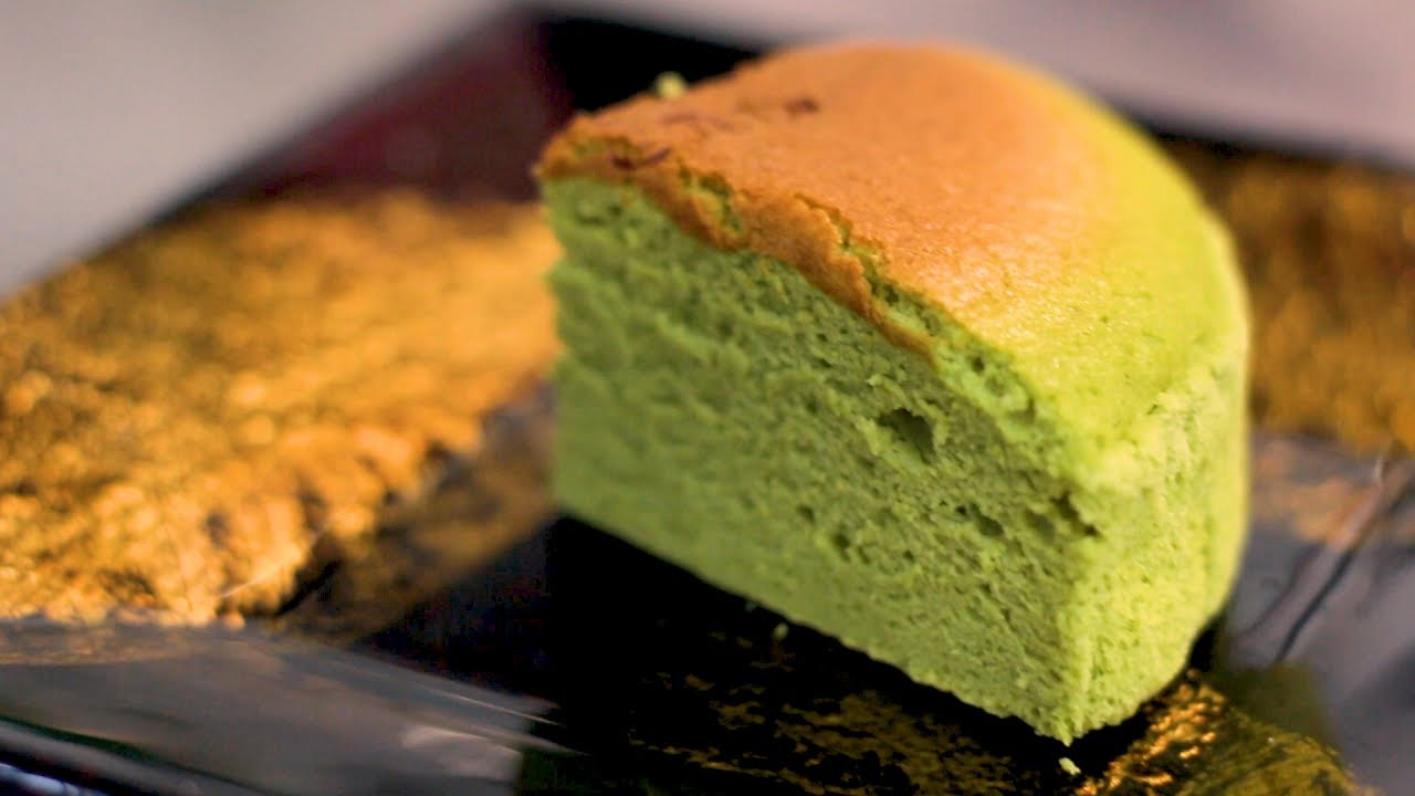 Japanese Matcha Cheesecake