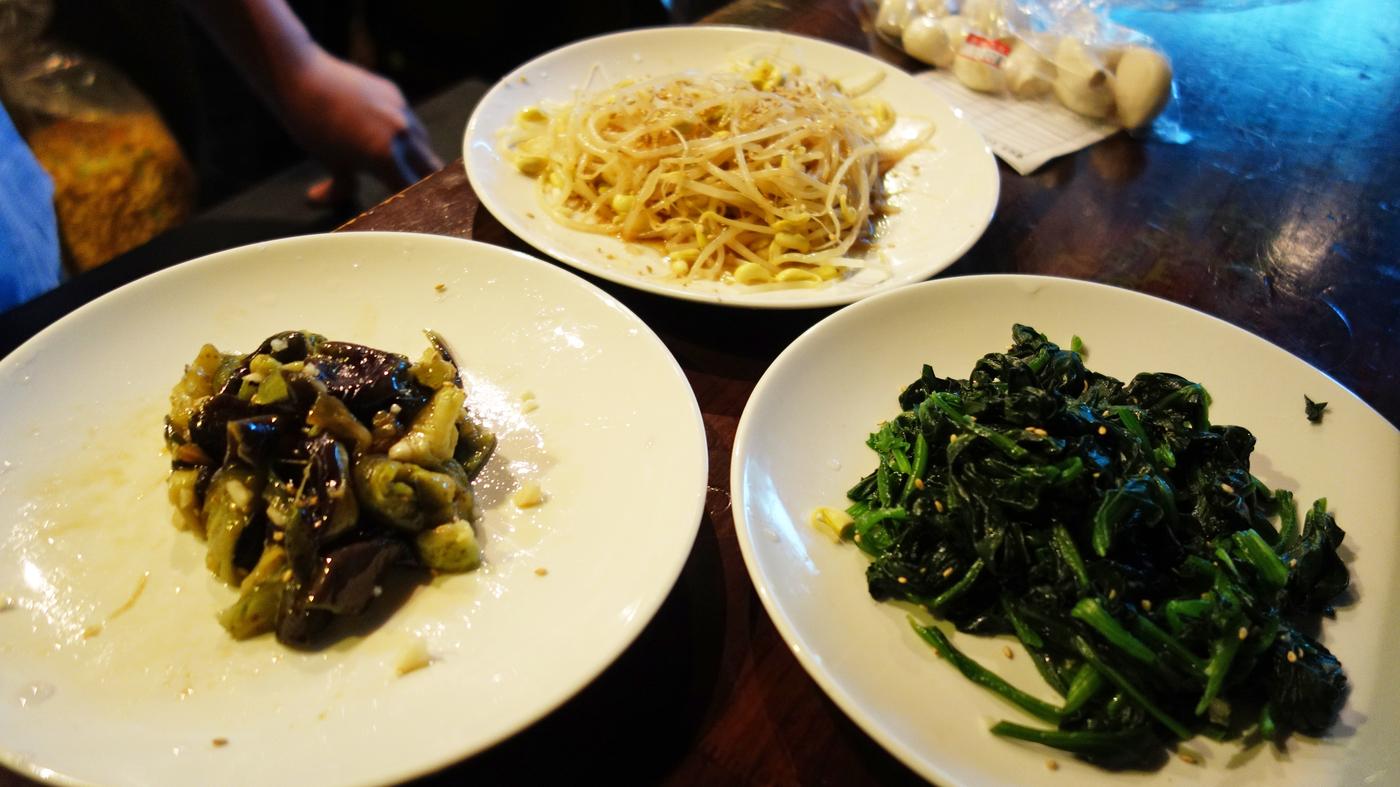 3 Korean Banchan Side Dishes