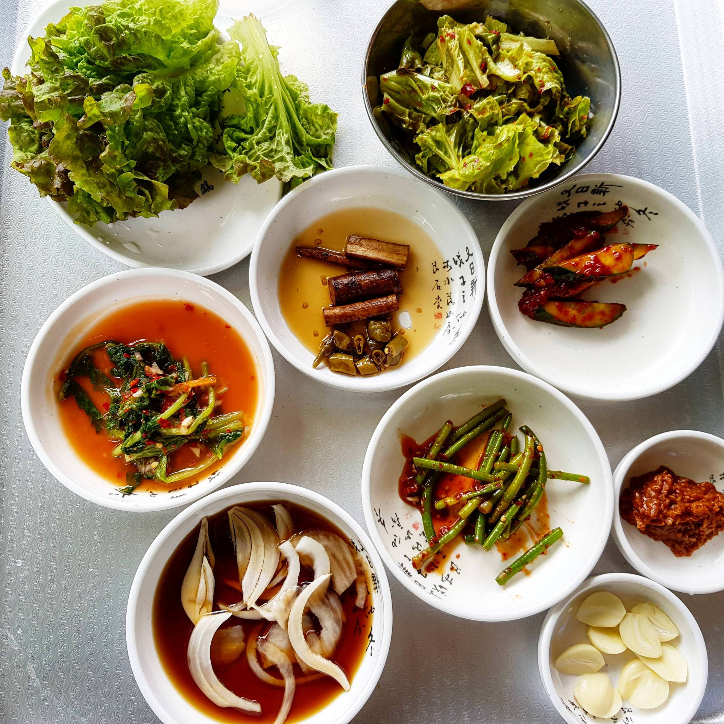 Korean Banchan Side Dishes