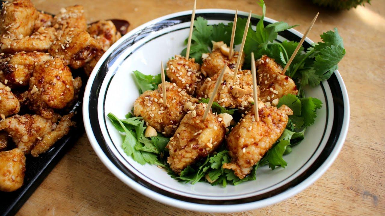Korean Style Chicken Nuggets