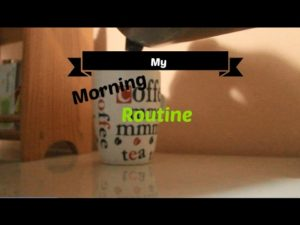 minimalist-morning-routine