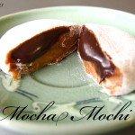 Easy Mocha Mochi Rice Cakes 찹쌀떡