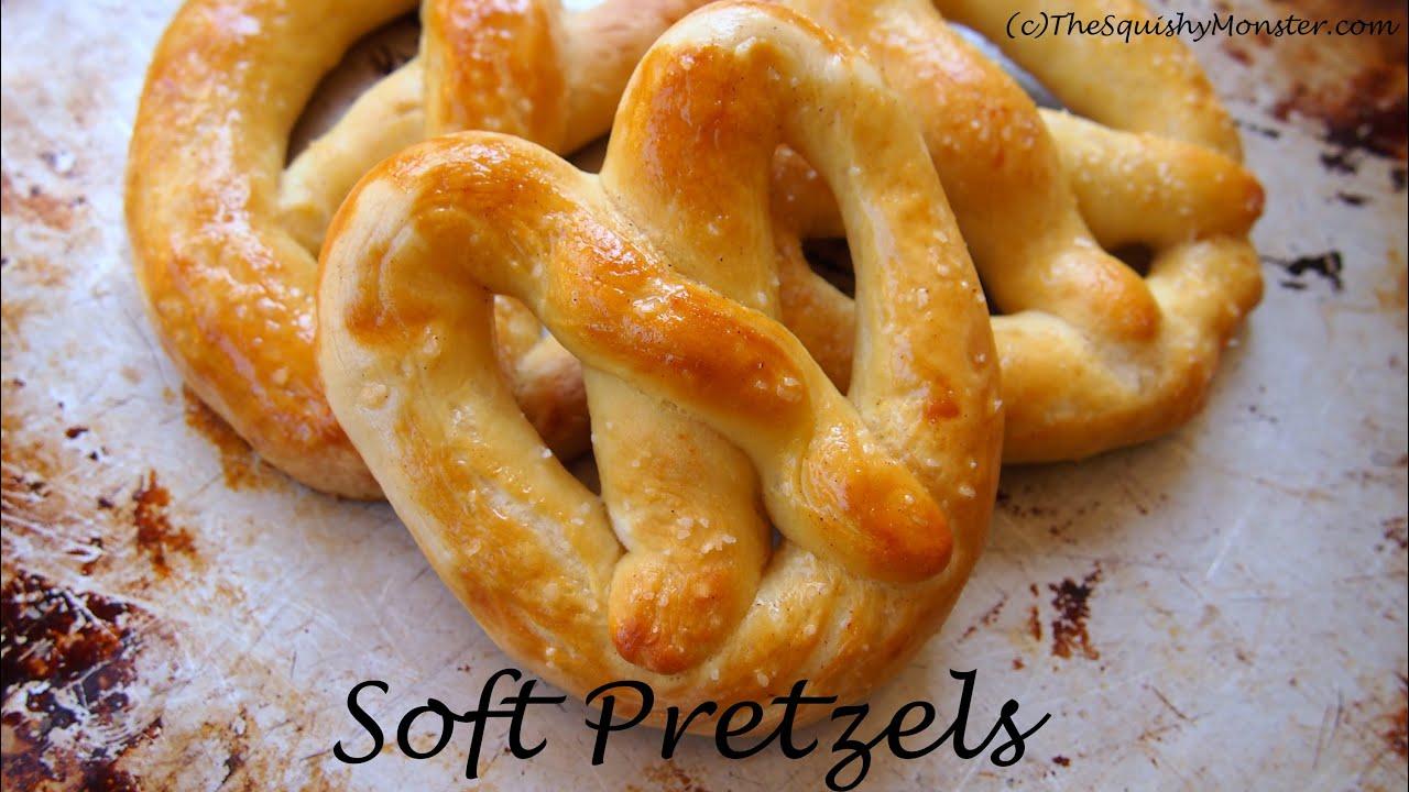 Buttery Soft Mall Pretzels