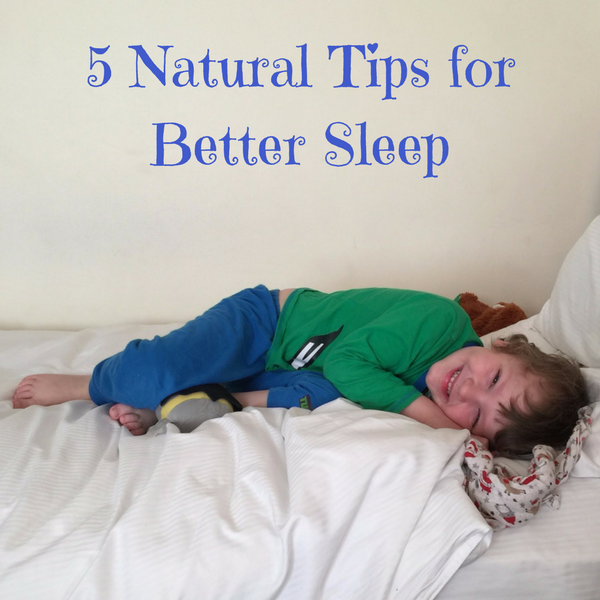 Improve Sleep Naturally – 5 Easy Tips
