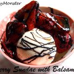 Strawberry Balsamic Sundae