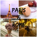 Paris & Rome + Announcement!