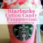 Cotton Candy Frappuccino {Starbucks Secret Menu}