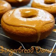 Gingerbread Donuts {Baked}