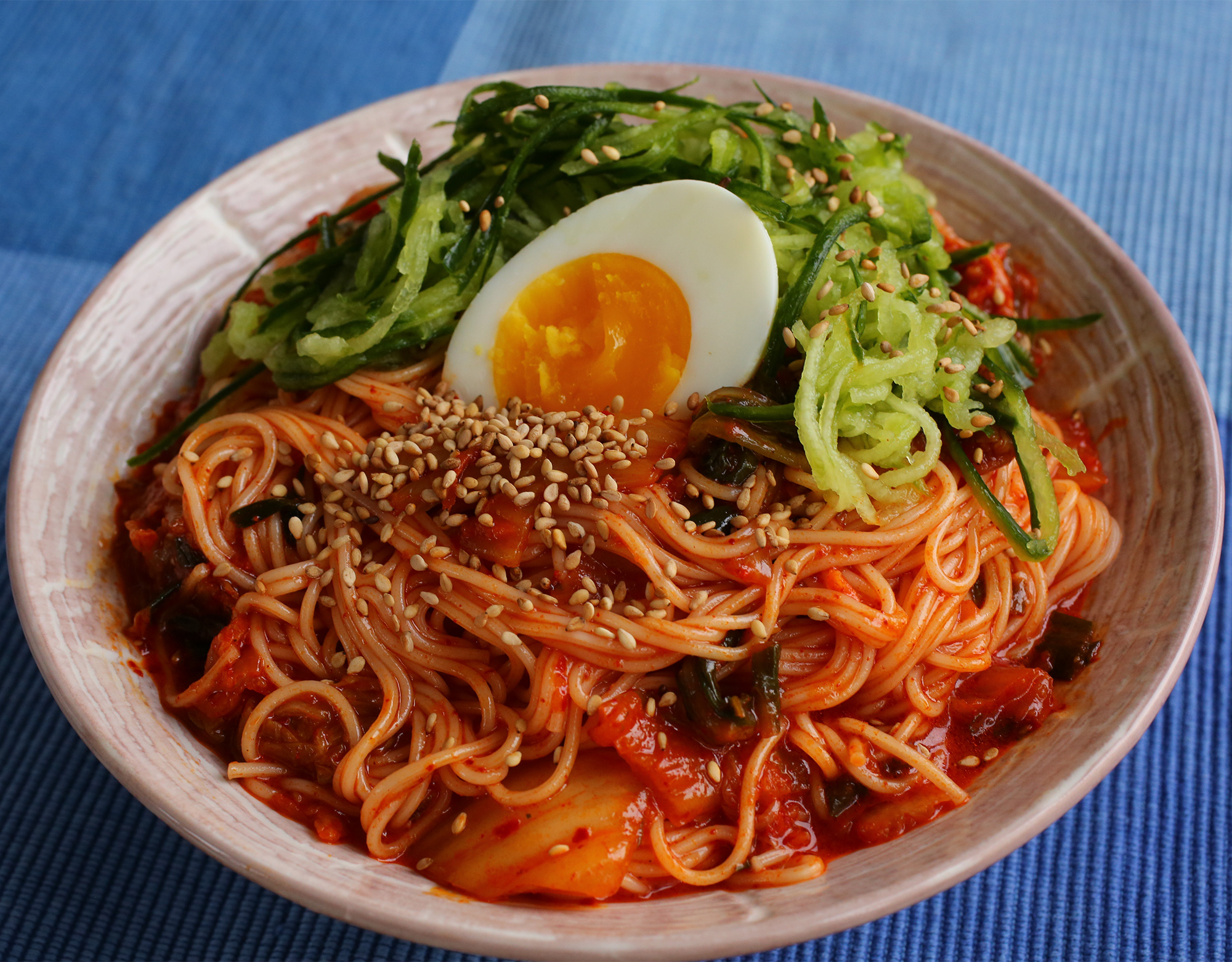 Kimchi Soba/Buckwheat Noodles 비빔국수