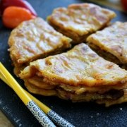 Kimchi Curry Pancakes