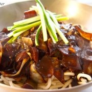 Korean Black Bean Noodles 자장면