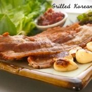 Korean Grilled Pork Belly