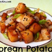 Korean Potatoes 감자조림