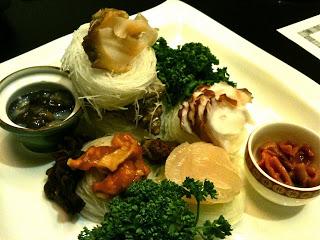 Skate Fish Sashimi Salad