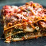 Spinach Mushroom Lasagna