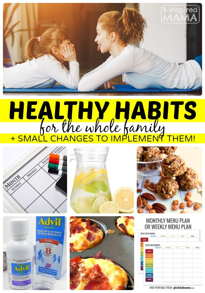 New + Old Healthy Habits
