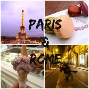 Paris & Rome + Announcement!