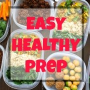 Easy Healthy Meal Prep