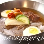Korean Cold Noodles Naengmyeon 냉면