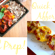 Quick, Easy & Affordable Meal Prep Recipes