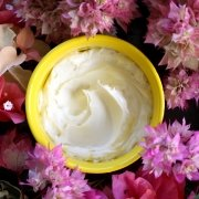 Rose Body Butter - Easy 3 Ingredient Recipe