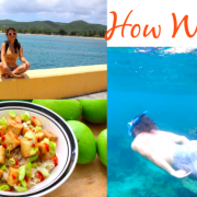 St. Croix Living and Exploring - Snorkeling + Food
