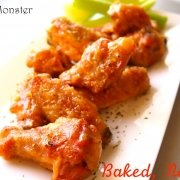 Chicken Wings, Baked Not Fried