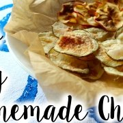 Crunchy 10 Minute Homemade Chips