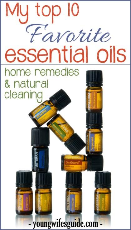 My Favorite Essential Oils